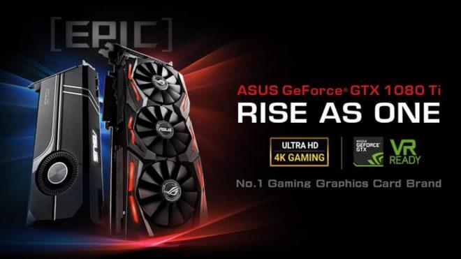 ASUS GeForce GTX 1080 Ti Lineup