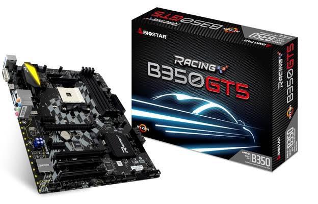 biostar racing b350 gt5