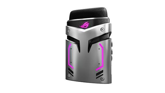 ROG Strix Magnus USB gaming microphone_front_left_purple