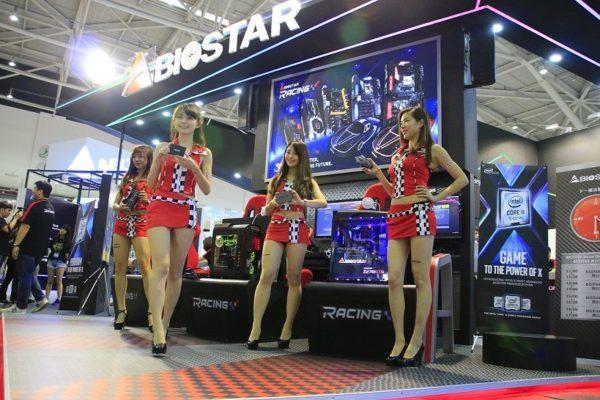 biostar showcase at computex 2017
