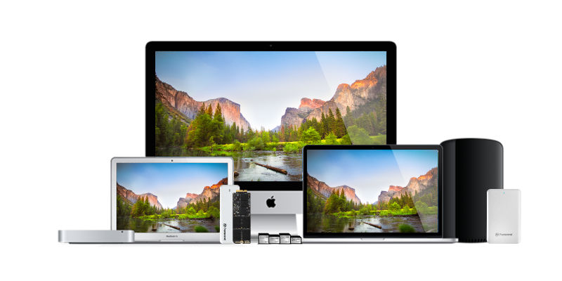 transcend solution for mac upgrade