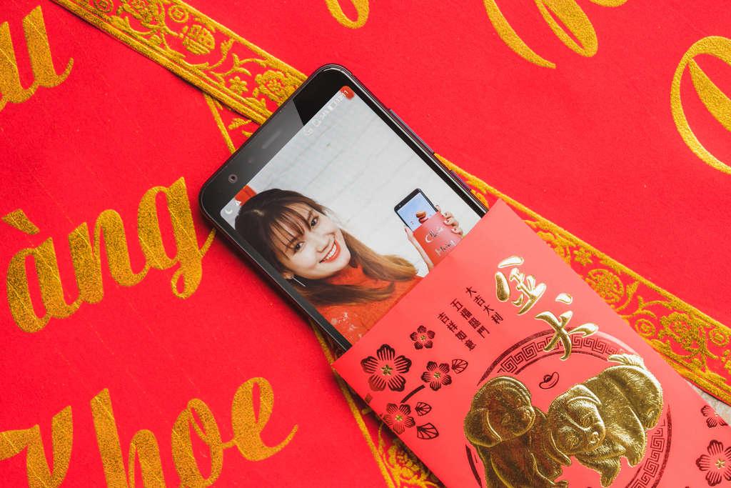 Vui sắm ZenFone Max Plus – Lì xì đỏ tay