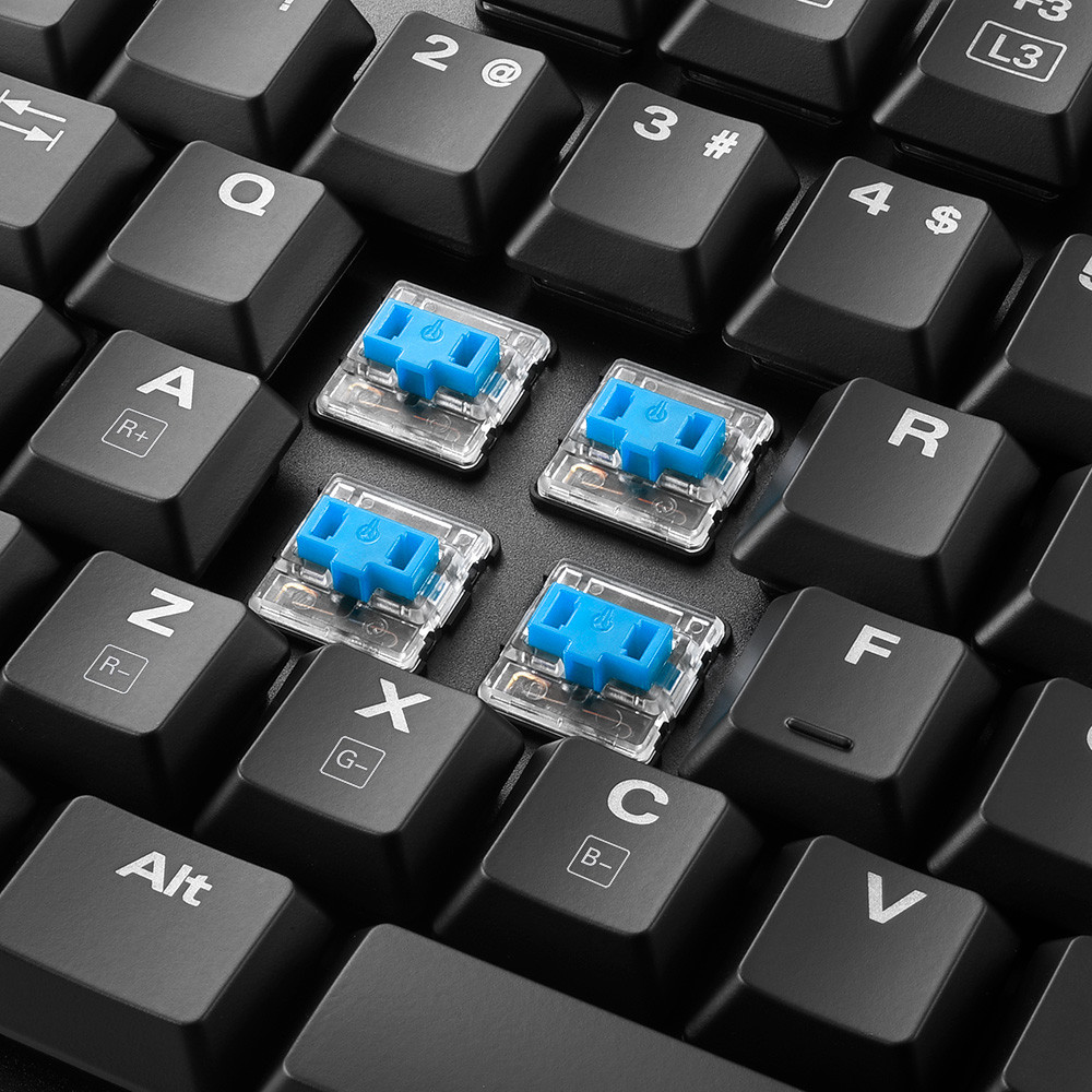 Sharkon_low_profile_keyboard_w_blue