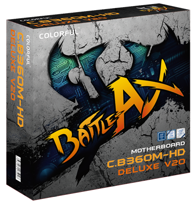 Colorful Battle Axe C.B360M-HD Deluxe V20