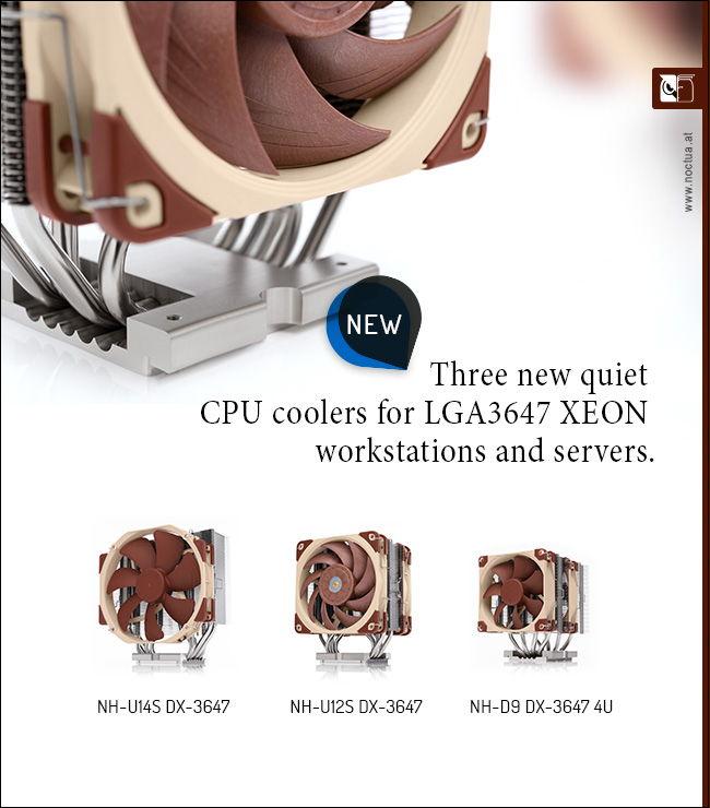 Noctua CPU Cooler for socket LGA3647
