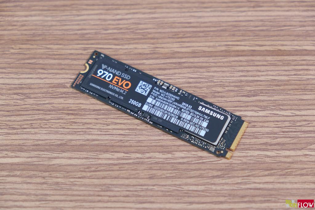 samsung 970 evo 250GB nvme m.2 ssd
