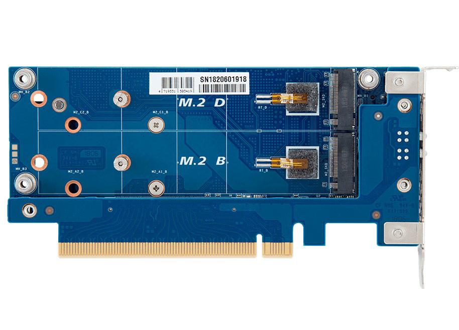 CMT4034 M.2 PCIe riser cards