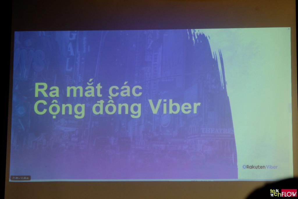 Viber ra mắt Cộng Đồng Viber