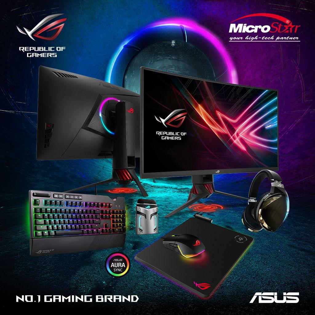 Viễn Sơn trở thành nhà phân phối LCD, gaming gear ASUS ROG