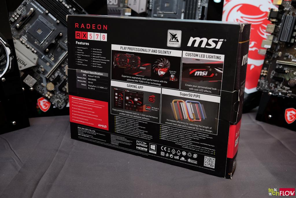 MSI Radeon RX 570 Mech 2 8GB OC