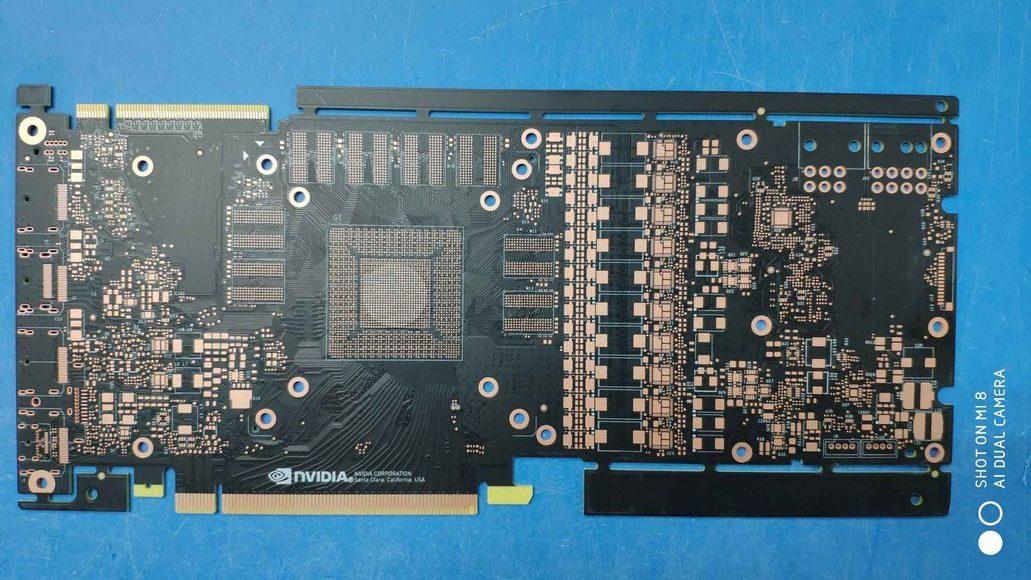 NVIDIA GeForce GTX 1180 PCB