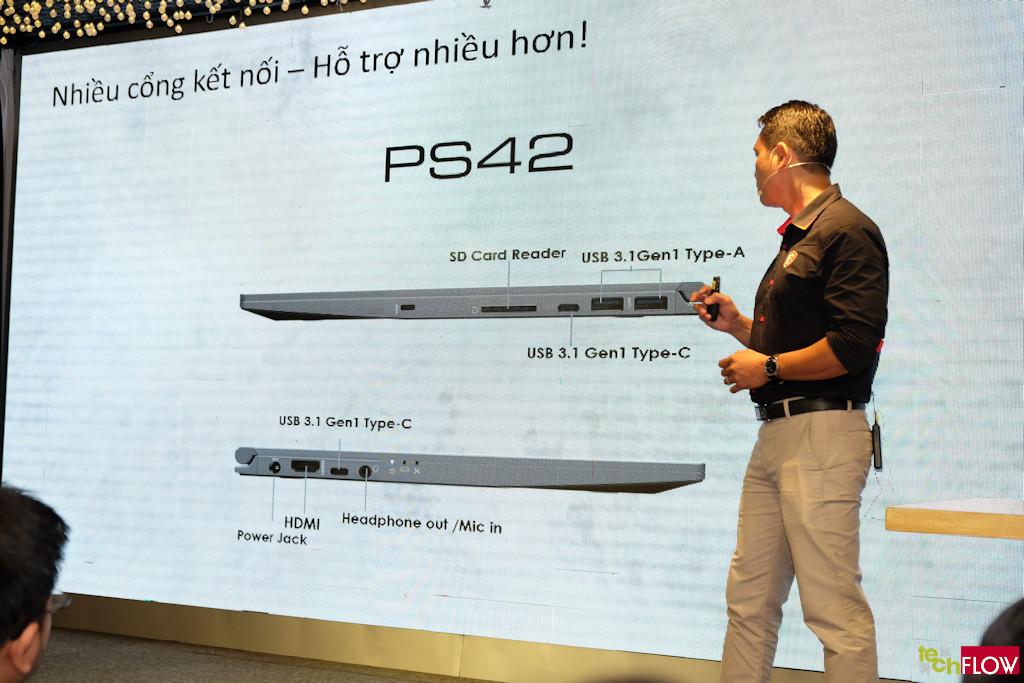 MSI công bố dòng laptop Ultrabook Prestige dành cho người dùng sáng tạo