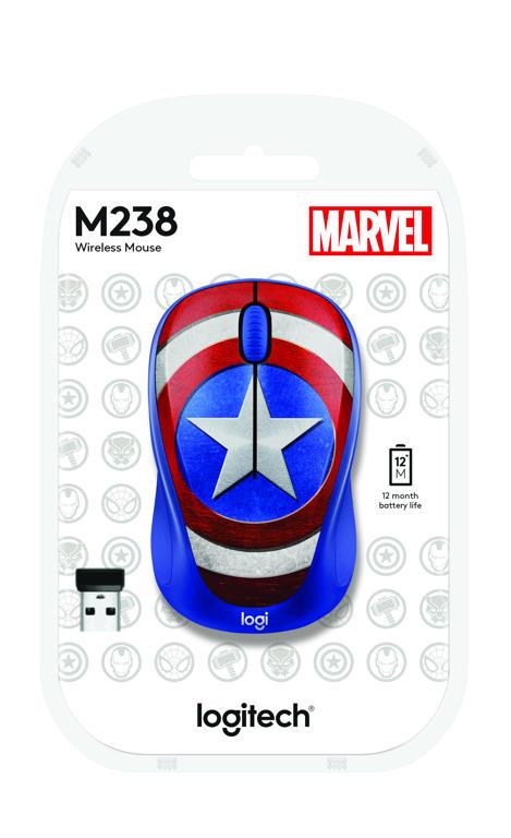 Logitech M238 Marvel Collection Captain America
