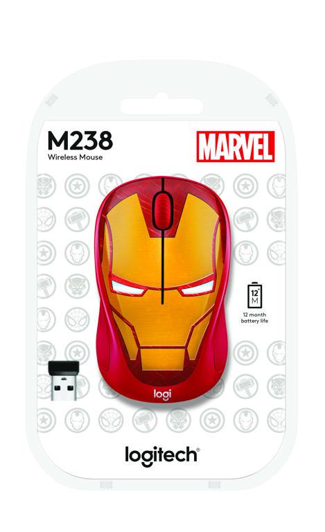 Logitech M238 Marvel Collection Iron Man