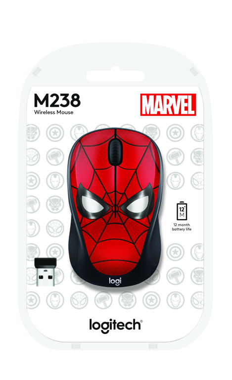 Logitech M238 Marvel Collection Spiderman