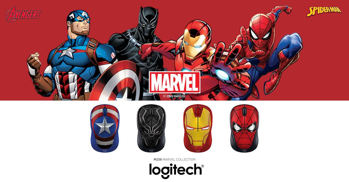 Logitech M238 Marvel Collection