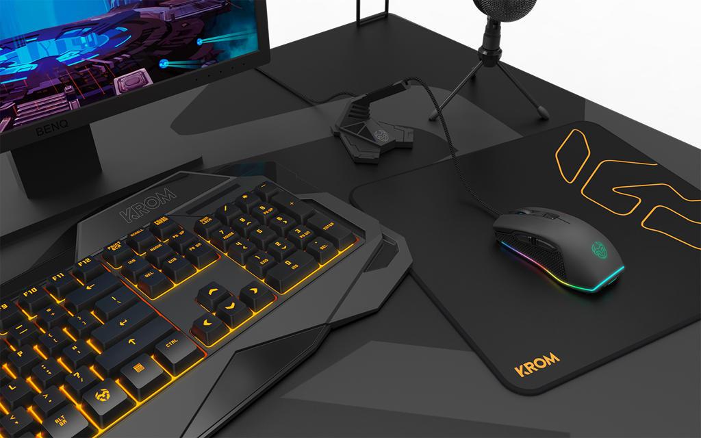 KROM Gaming Keyboard 02