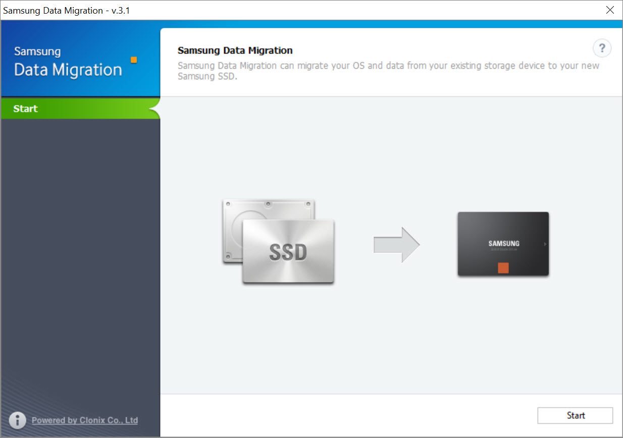 How to use Samsung Data Migration