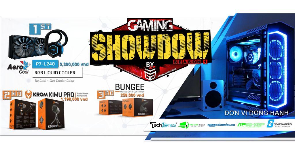 gaming showdown by vietnam gaming group