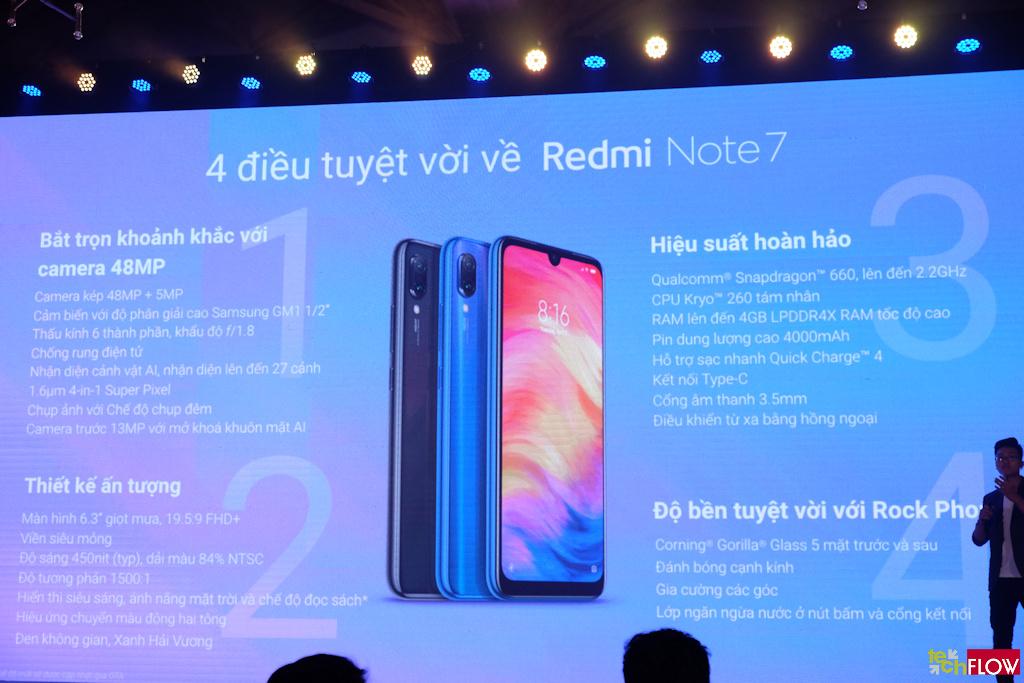 Xiaomi ra mắt Redmi Note 7, Redmi 7 tại thị trường Việt Nam