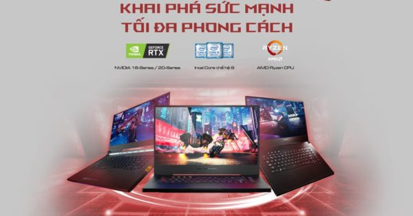 ASUS ROG ra mat loat laptop trang bi GeForce GTX 16-series 001