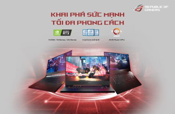 ASUS ROG ra mat loat laptop trang bi GeForce GTX 16-series 001