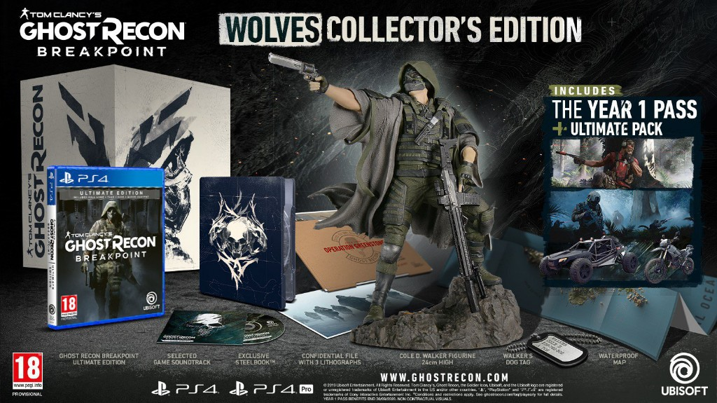 Tom's Clancy Ghost Recon Beakpoint Wolves Collection