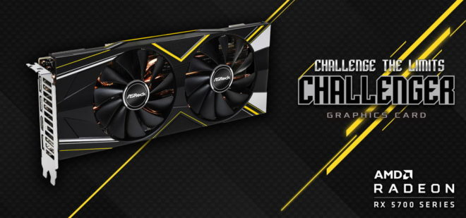 ASRock Radeon RX 5700 Challenger Series