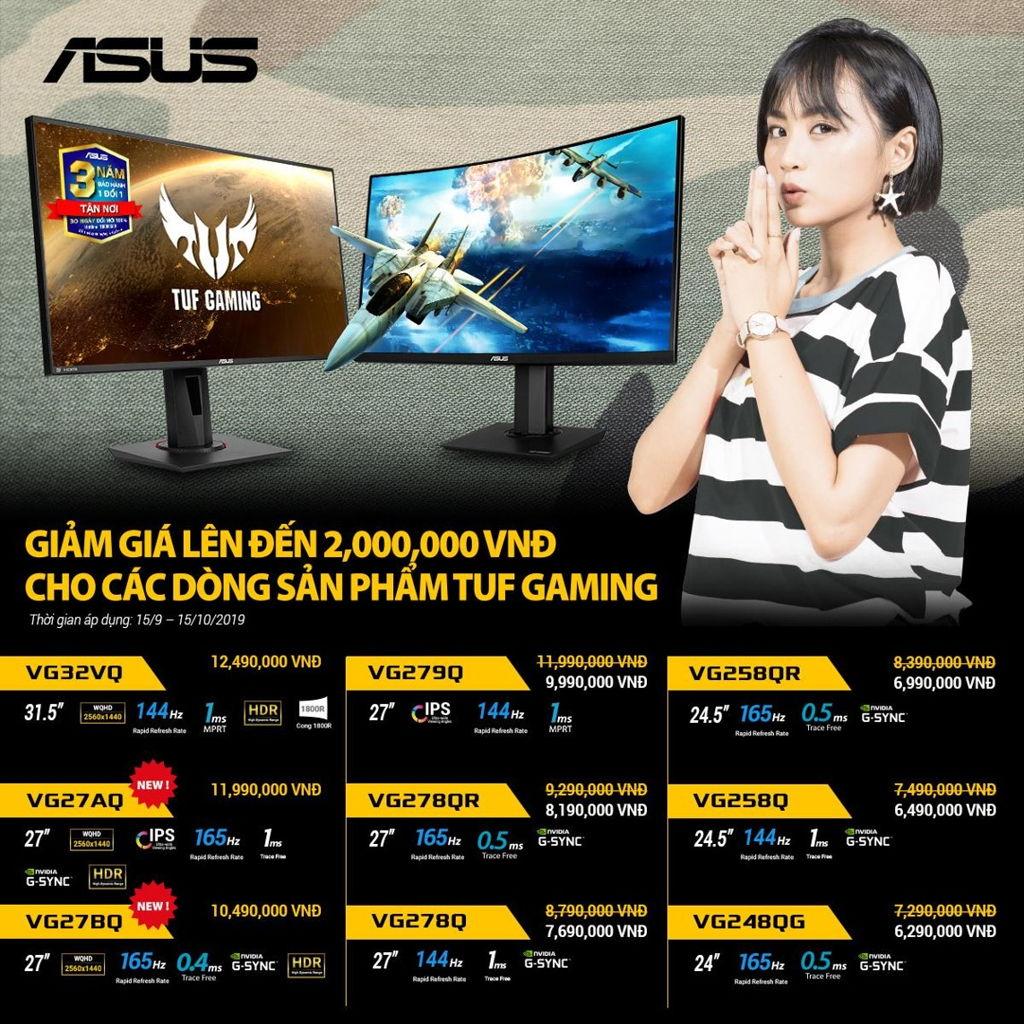 asus tuf gaming monitor promotion 092019