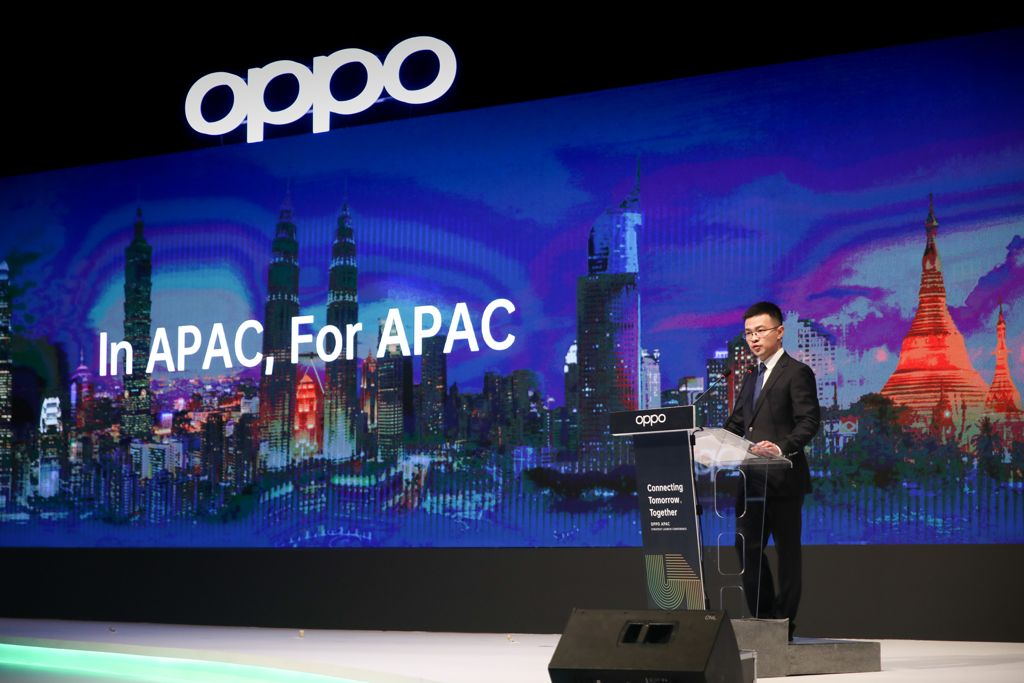 Jimmy Yi, President of OPPO Asia Pacific
