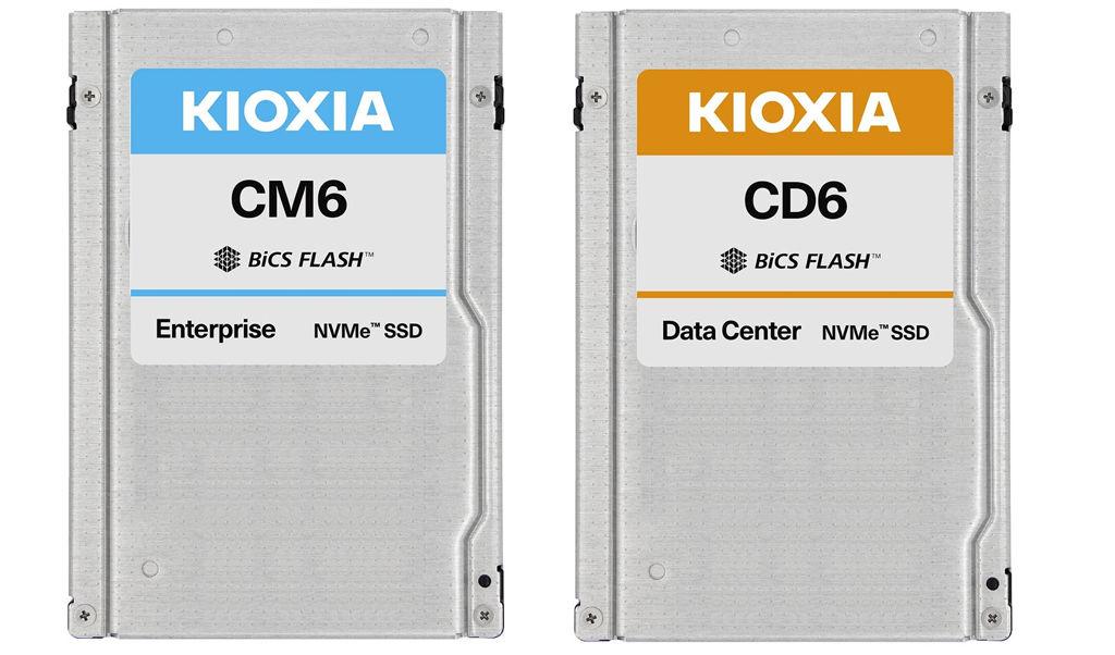 Kioxia PCIe Gen4 NVMe SSD