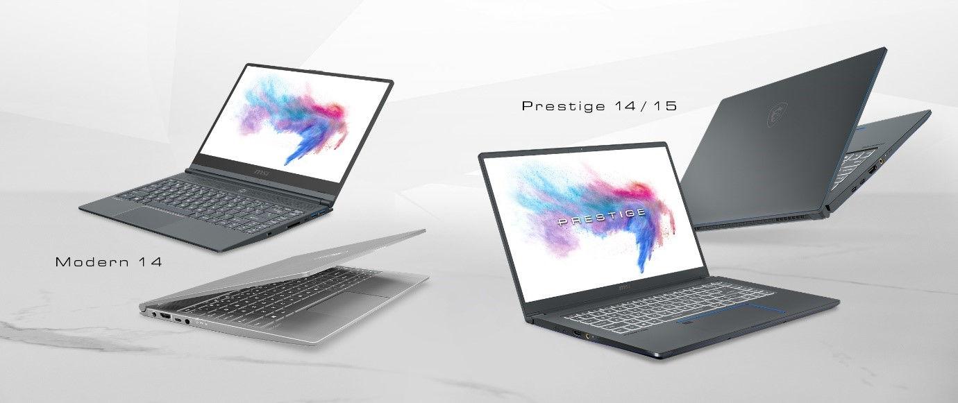 MSI Creator laptop