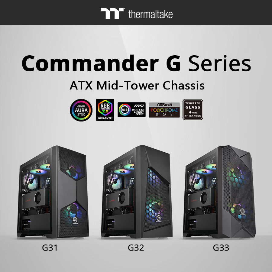 Thermaltake Commander G Series Mid-Tower Chassis_1