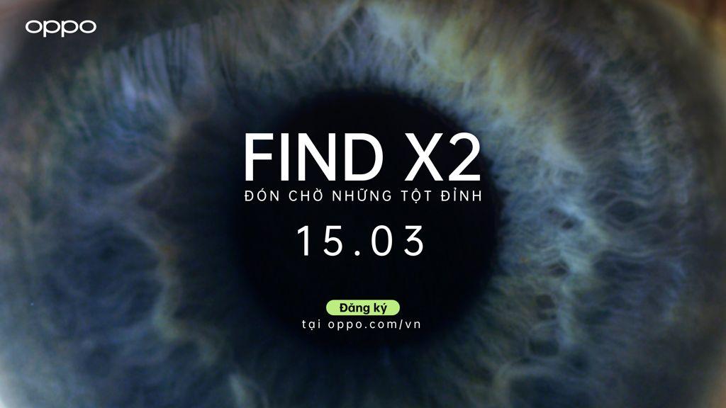 Dang Ky Tham Du OPPO Find X2 Pr ra mat tai Vietnam