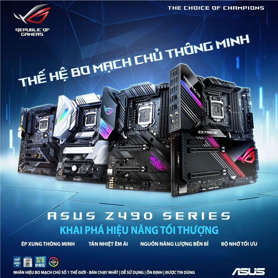 ASUS Z490 Motherboard series