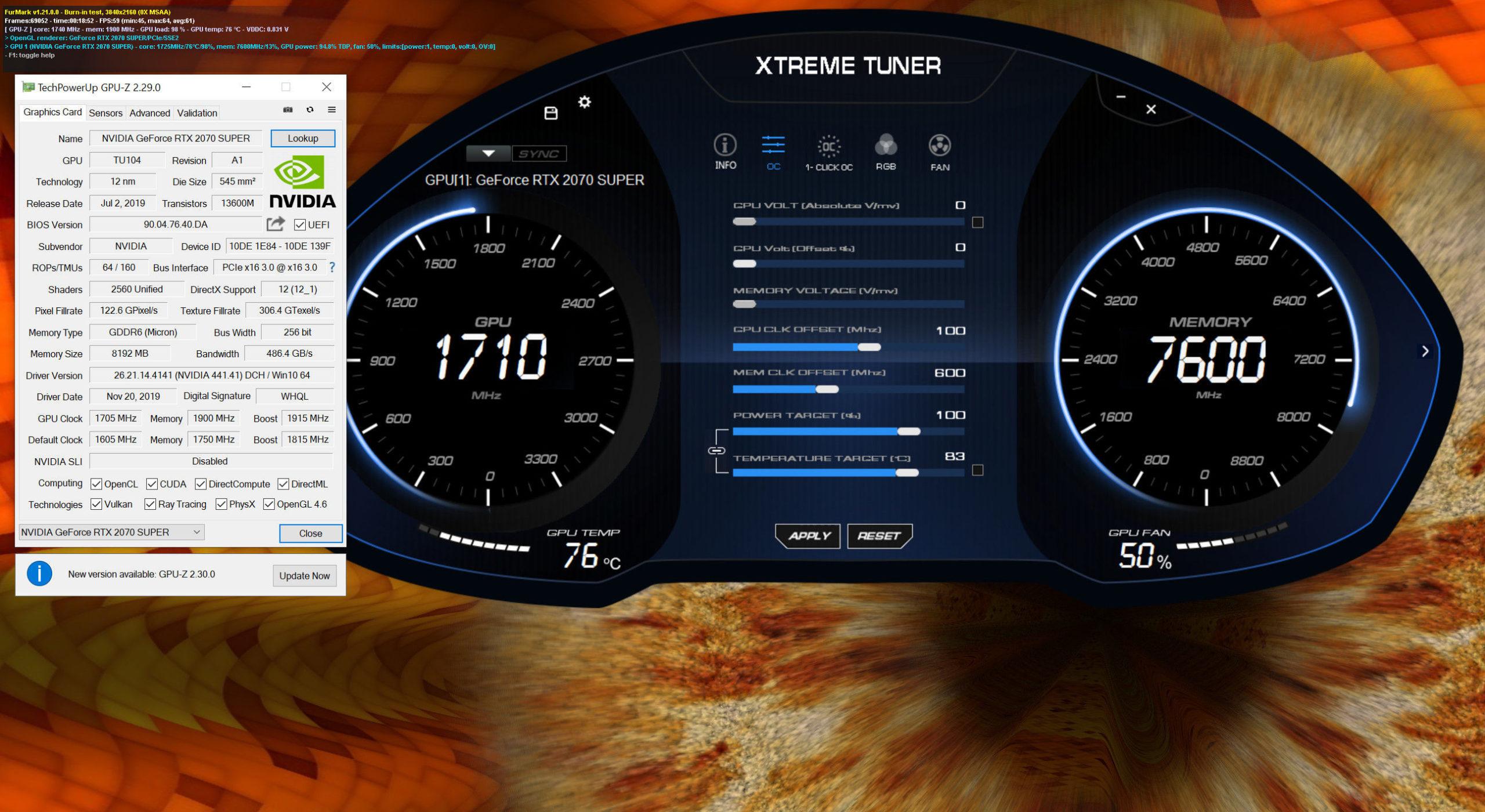 Galax GeForce RTX 2070 Super EX Black (1-Click OC) Xtreme Tuner Plus 002
