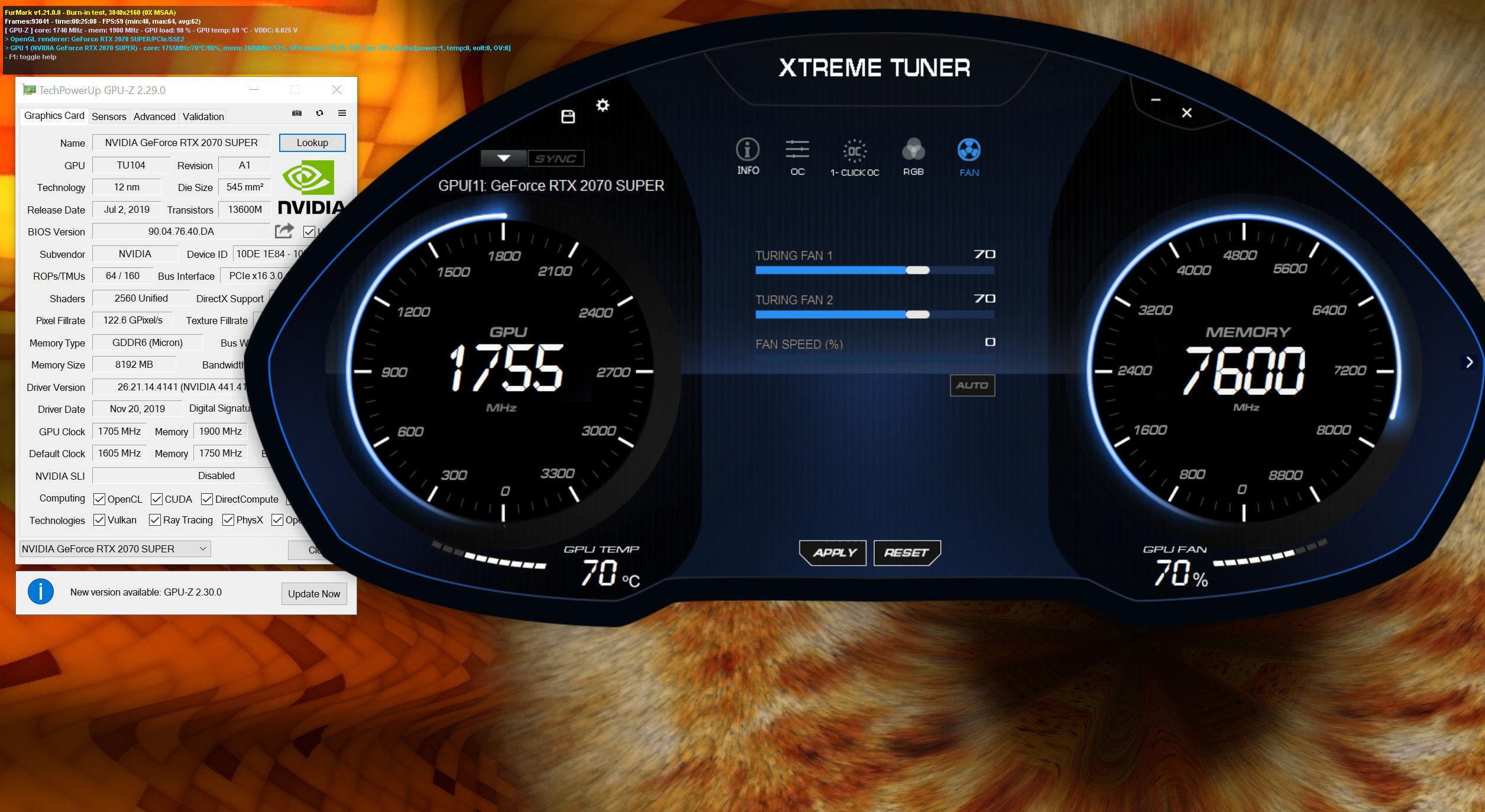 Galax GeForce RTX 2070 Super EX Black (1-Click OC) Xtreme Tuner Plus 003