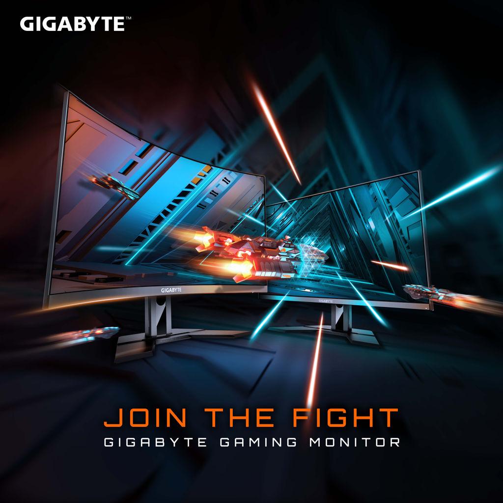 Gigabyte Gaming monitor family