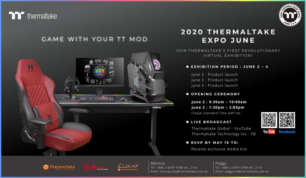 2020 Thermaltake Expo June Virtual Exhibition
