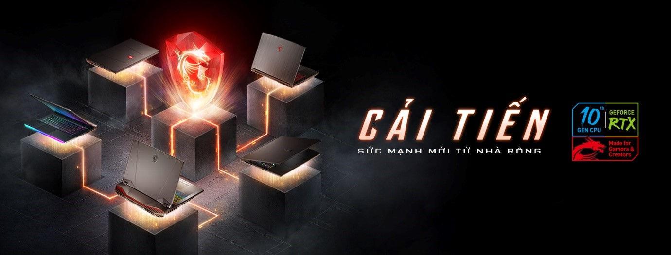 MSI nang cap 6 dong laptop choi game moi