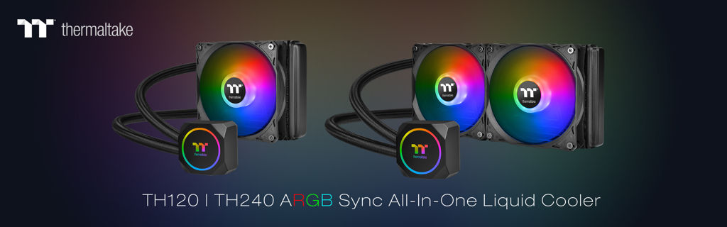 Thermaltake New TH120TH240 ARGB All-In-One Liquid Cooler_2