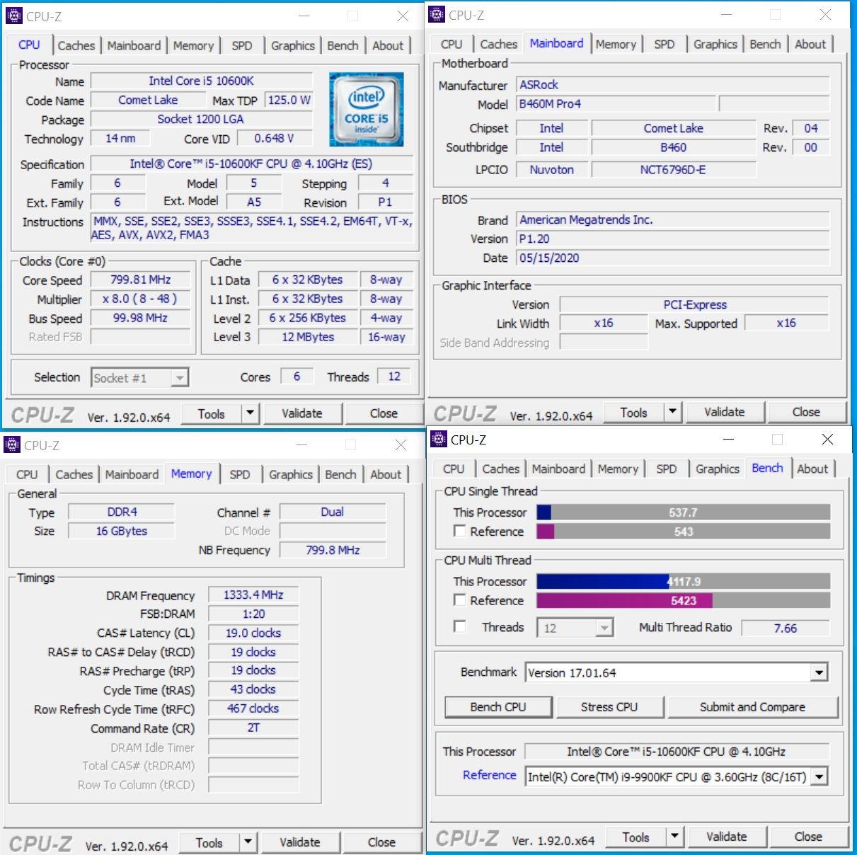 ASRock_B460M_Pro4_cpuz-benchmark