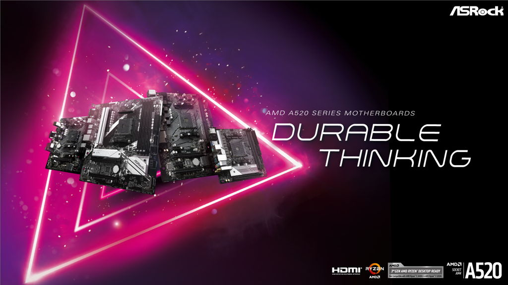 ASRock Launches AMD A520 Motherboards 001
