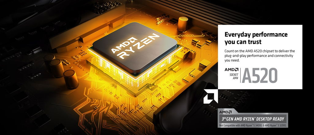 ASRock Launches AMD A520 Motherboards 002