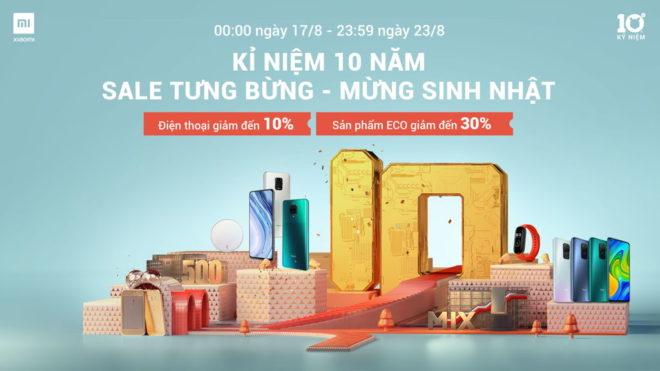 Chương trình kỷ niệm 10 năm Xiaomi