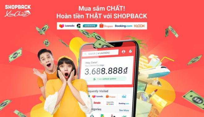 ShopBack ra mat Viet Nam