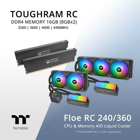 Thermaltake Floe RC Series