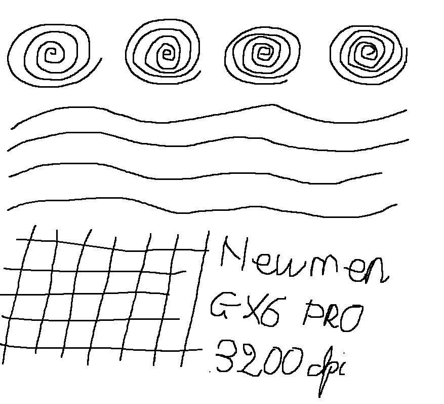Newmen_GX6_PRO-3200dpi_test