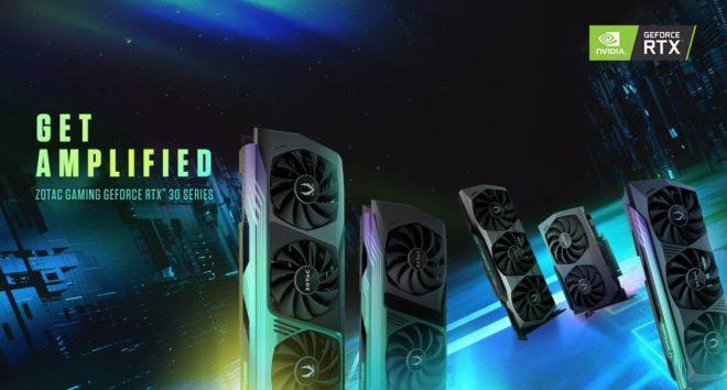 Zotac Gaming Geforce RTX 30 Series Header