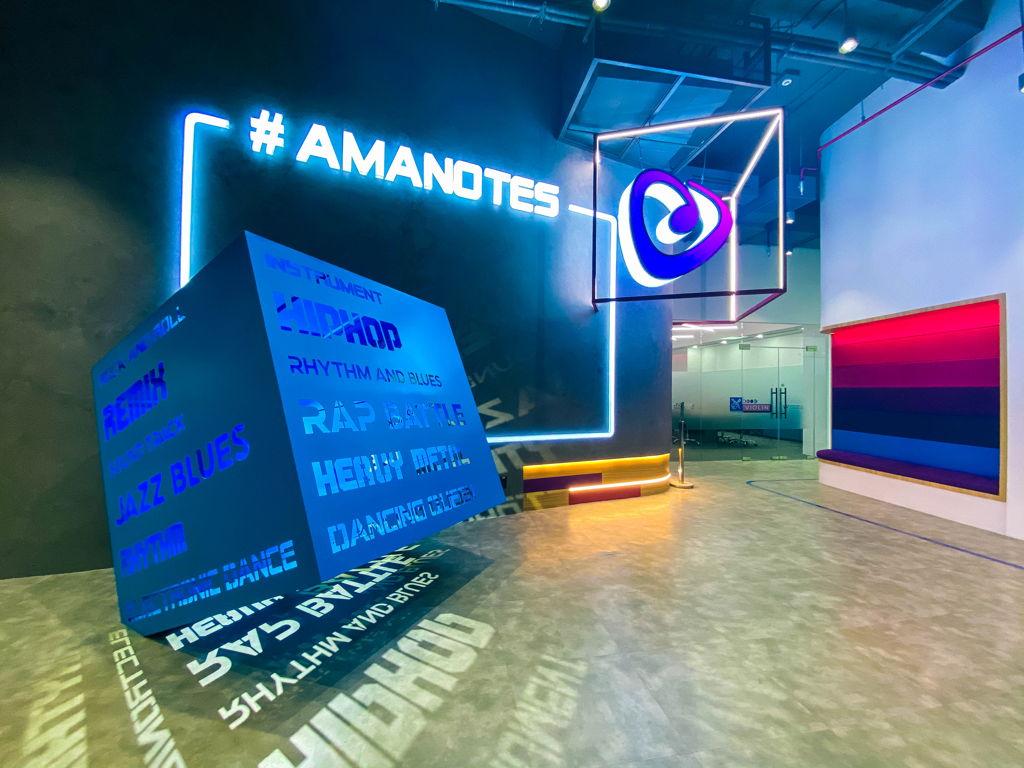 amanotes - khu welcoming
